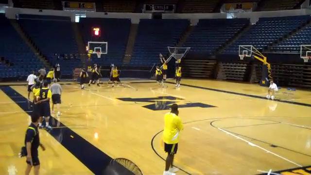 Michigan Practice Video Part 1 (8-19-2010)