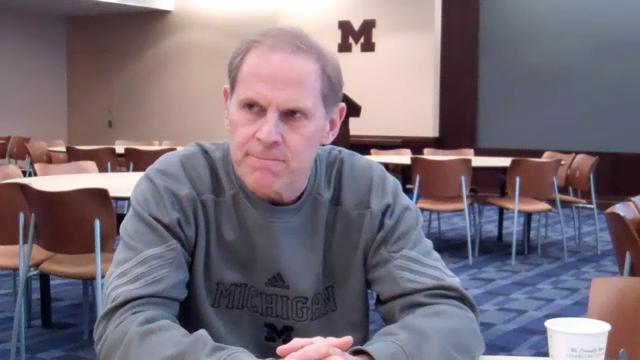 John Beilein Meets with Media Before Ohio State