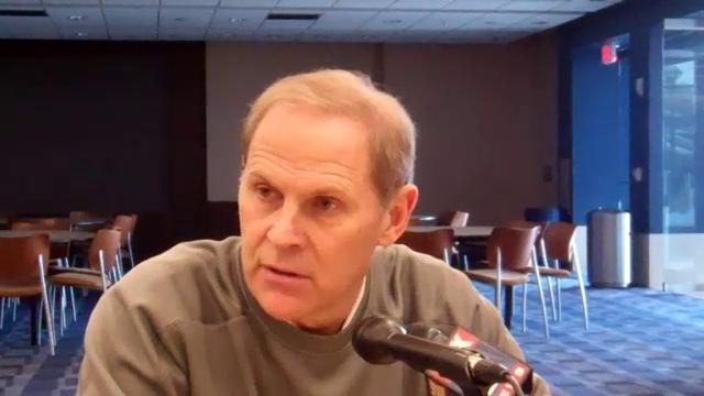 Video: John Beilein Breaks Down Northwestern