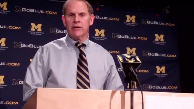 Video: John Beilein After Wisconsin Loss