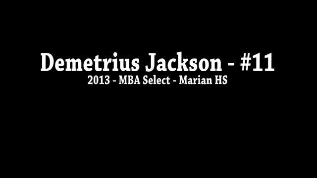 Video: Demetrius Jackson at Spiece Run 'n Slam