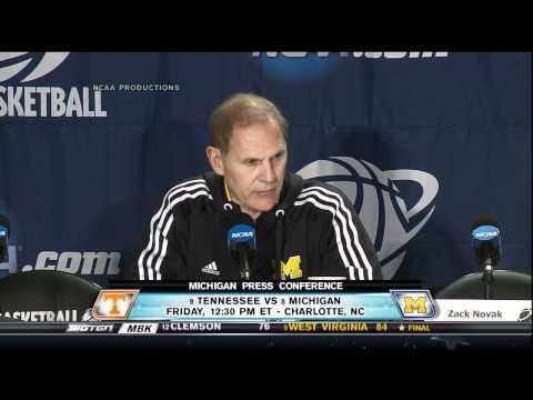 Video: Michigan Pre-NCAA Press Conference