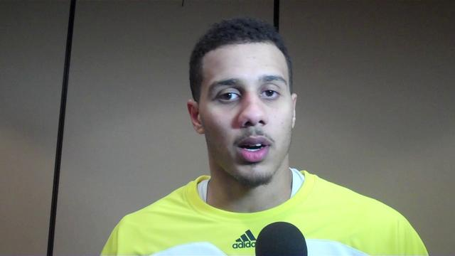 Video: Jordan Morgan, Tim Hardaway Jr., Trey Burke and Zack Novak Discuss Western Illinois Win