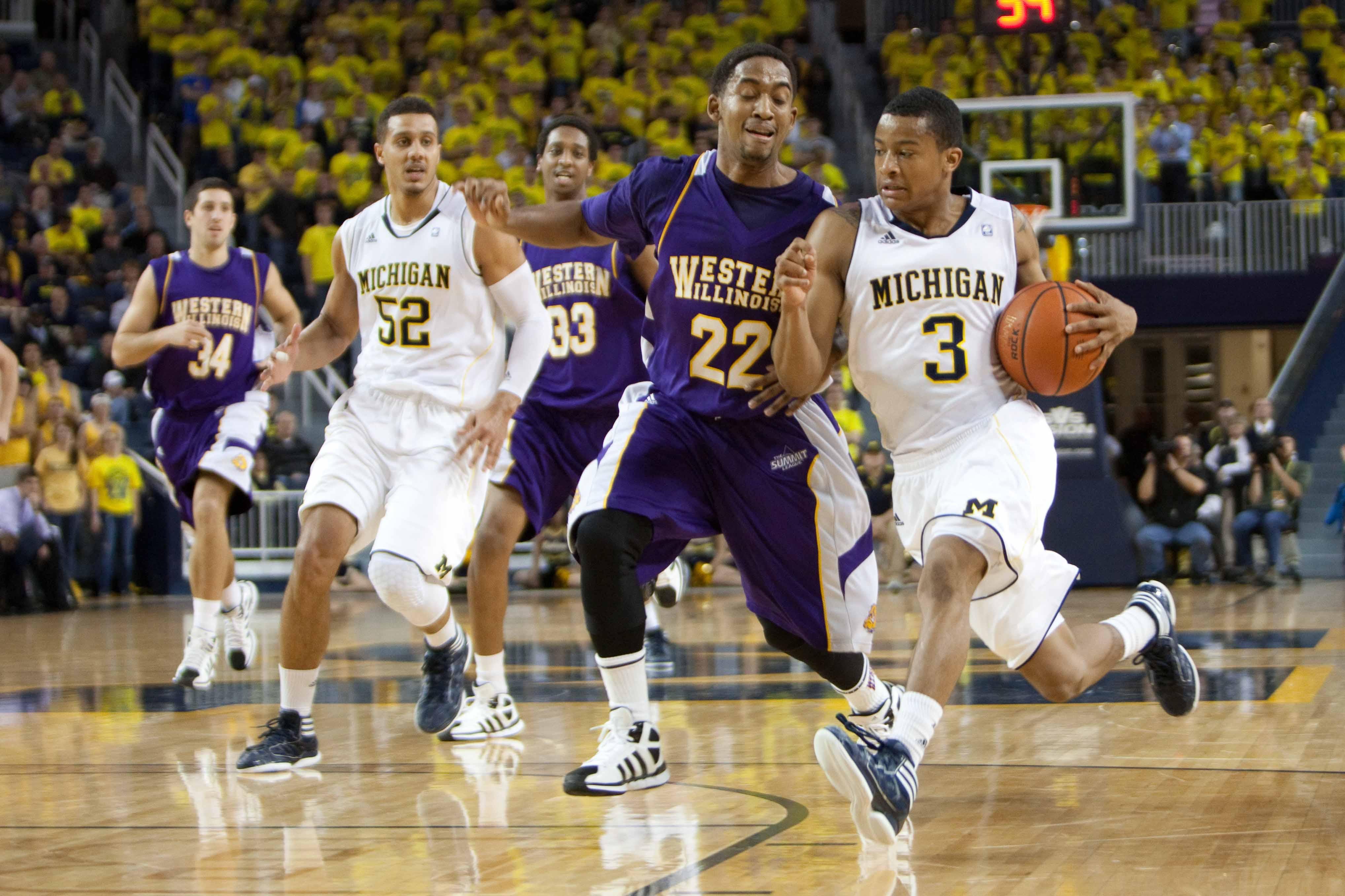 Michigan vs. Western Illinois 23