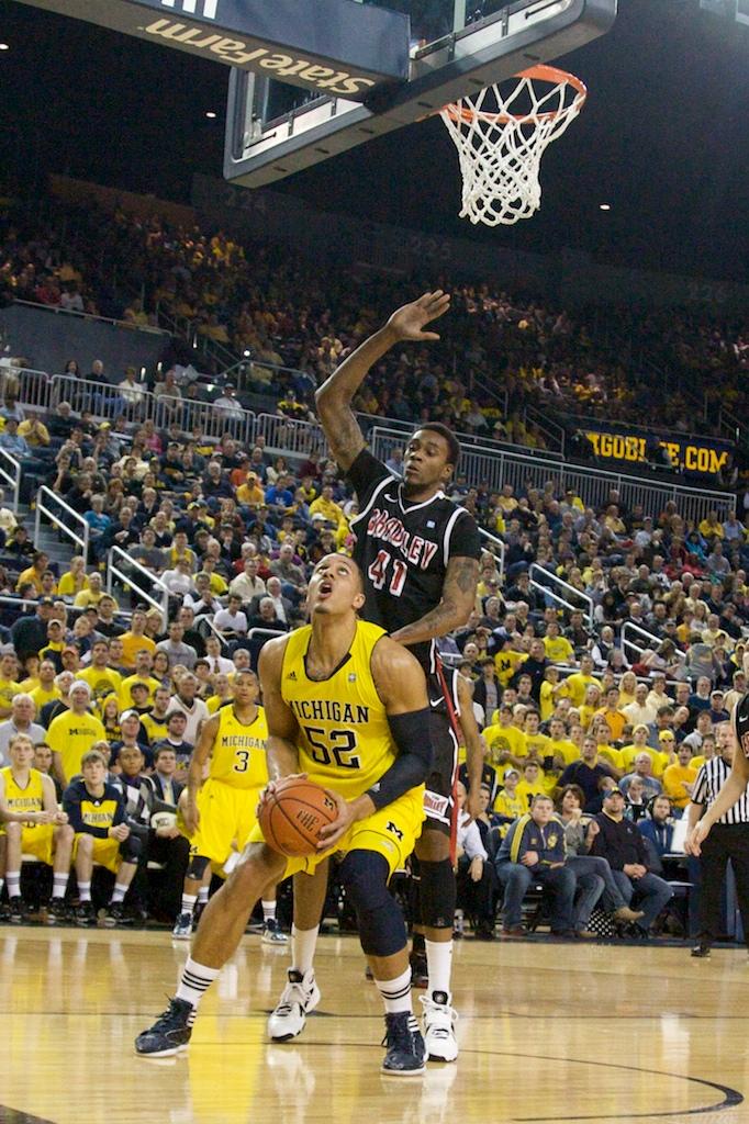 Bradley at Michigan 15