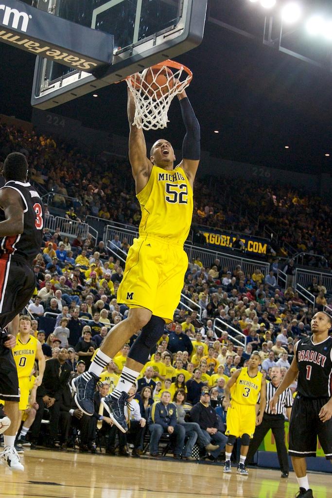 Bradley at Michigan 17