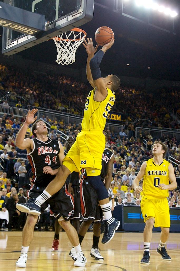 Bradley at Michigan 10