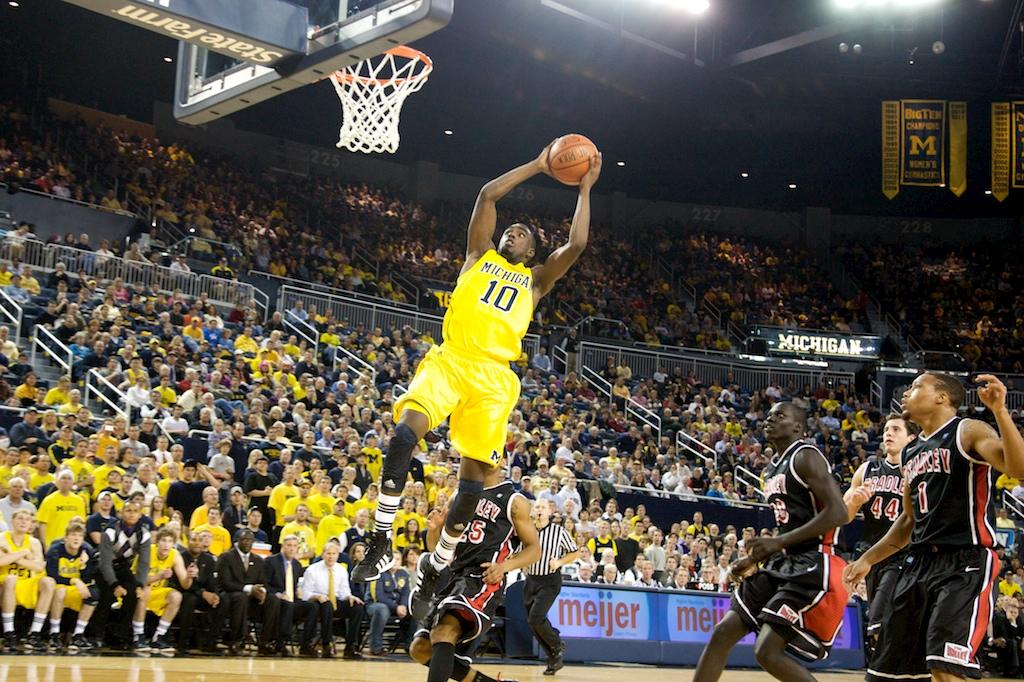 Bradley at Michigan 1