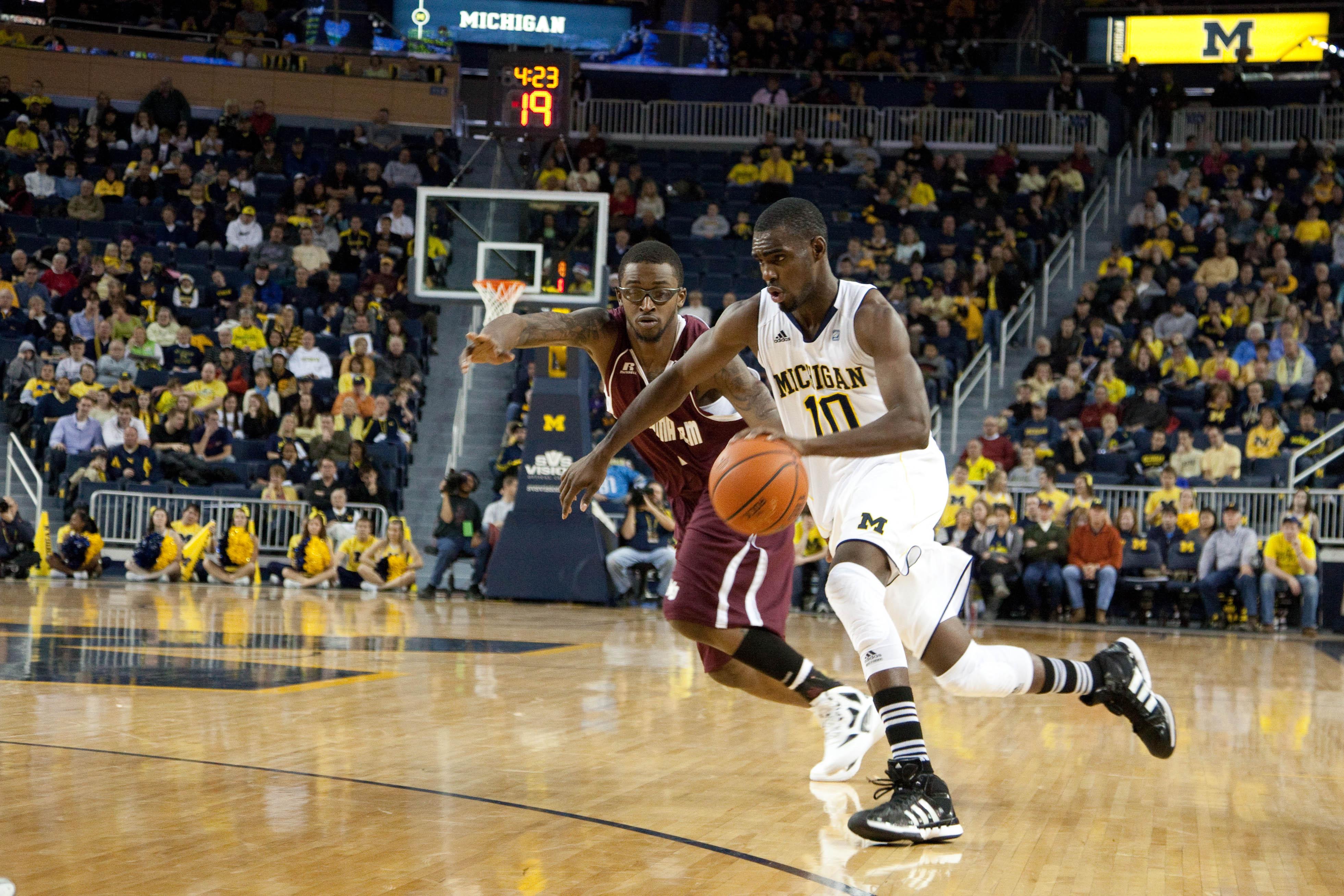 Alabama A&M at Michigan 16