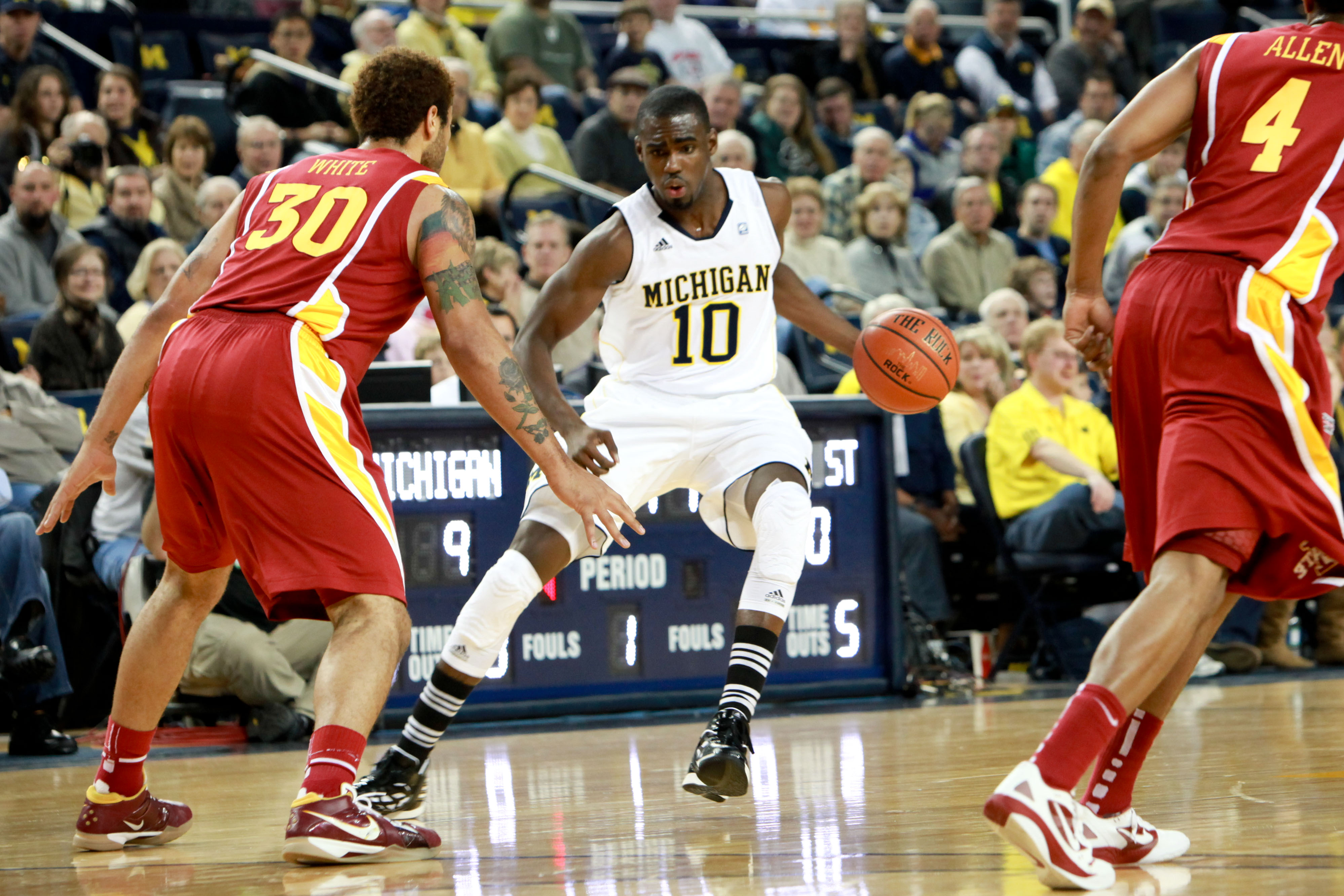 Iowa State at Michigan –  4