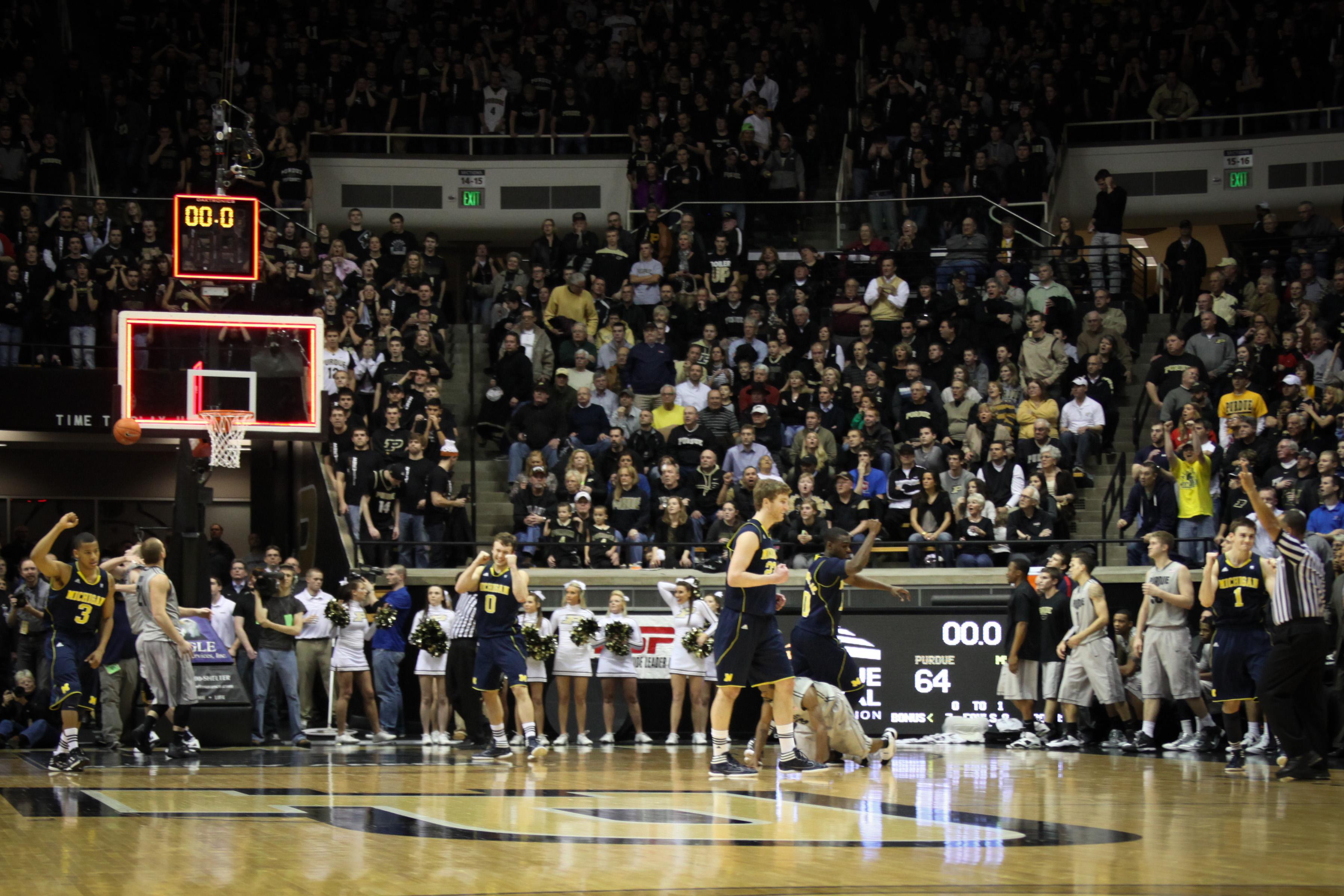 Michigan at Purdue 30