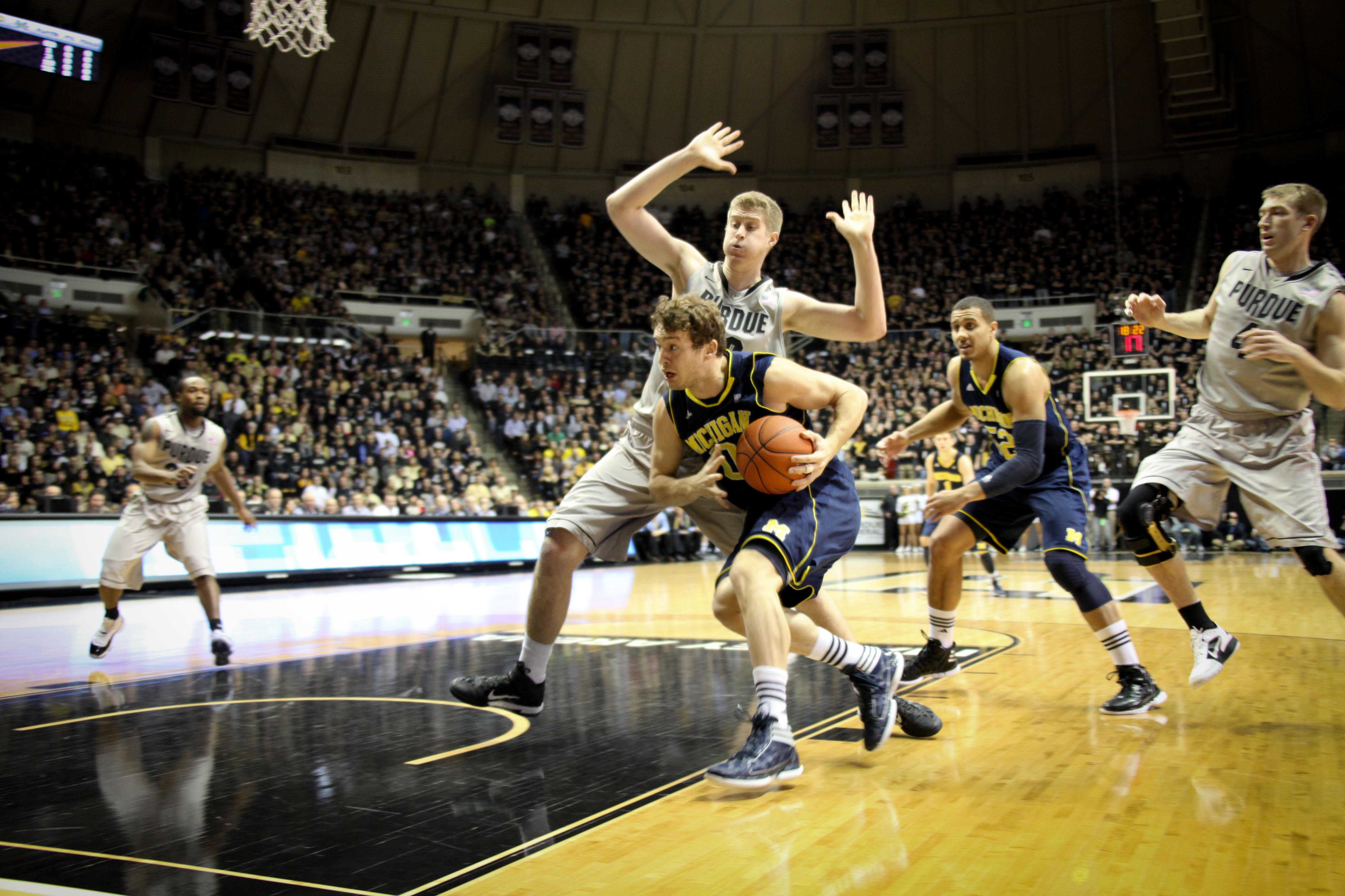 Michigan at Purdue 3