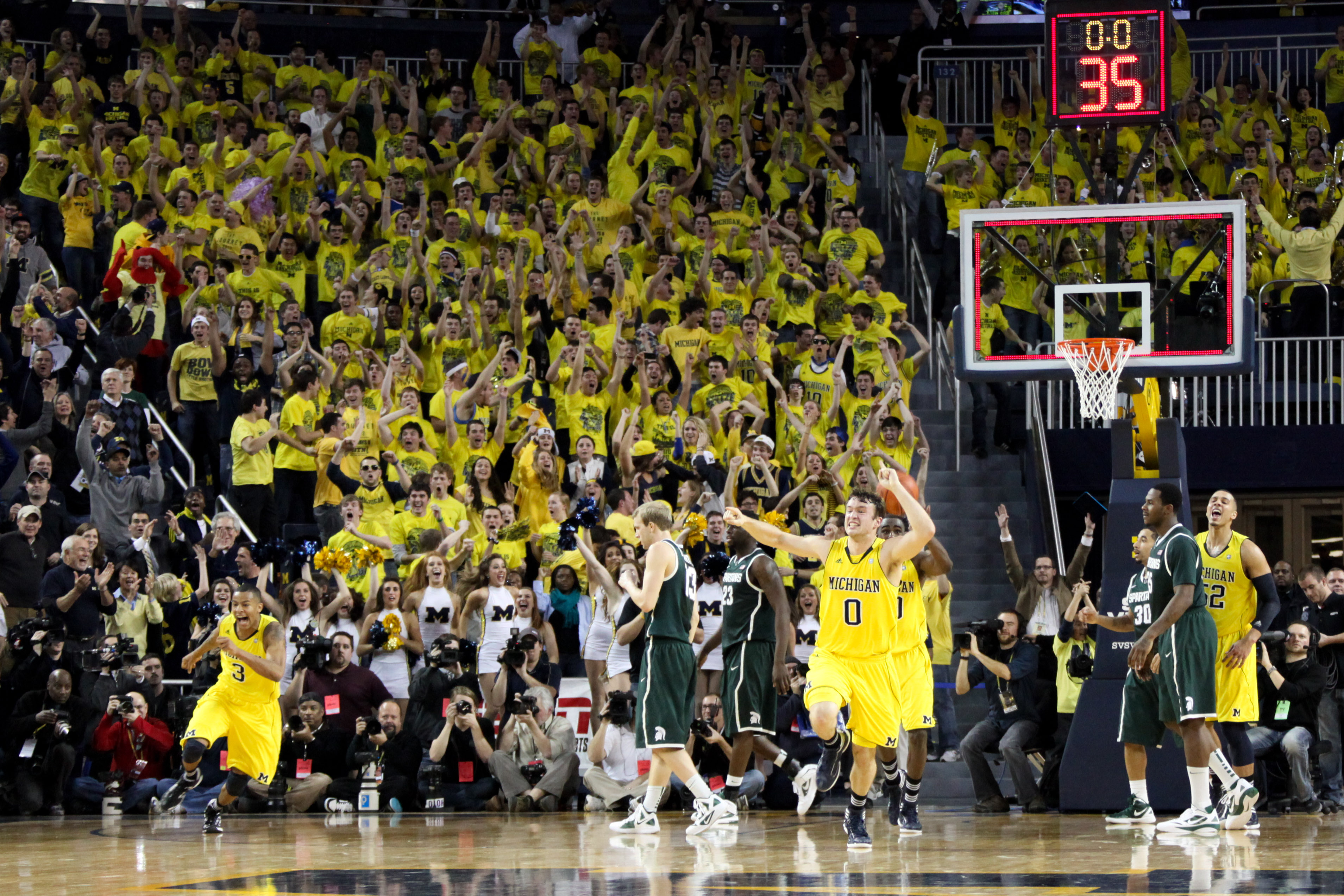 Michigan State at Michigan 30
