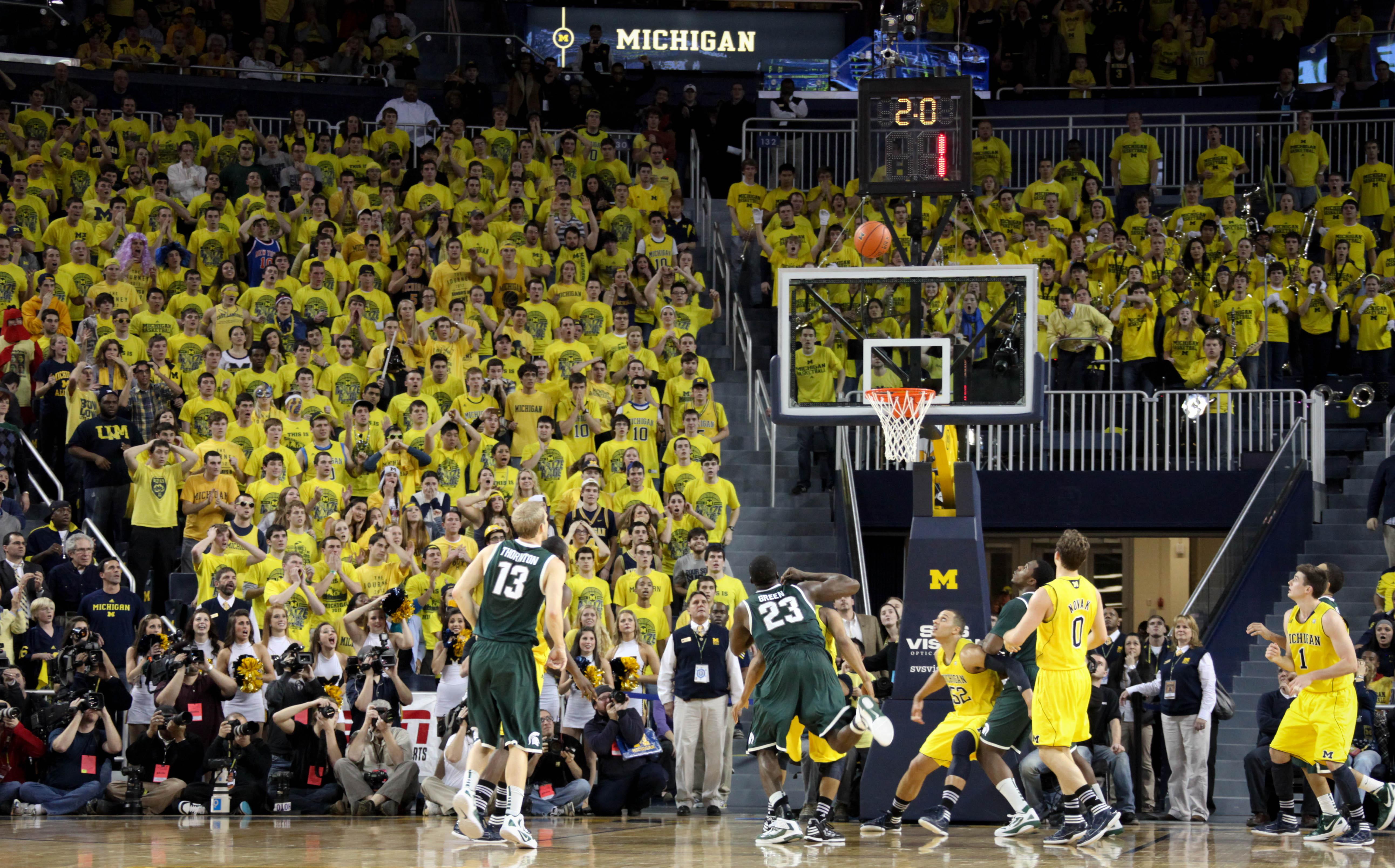 Michigan State at Michigan 29