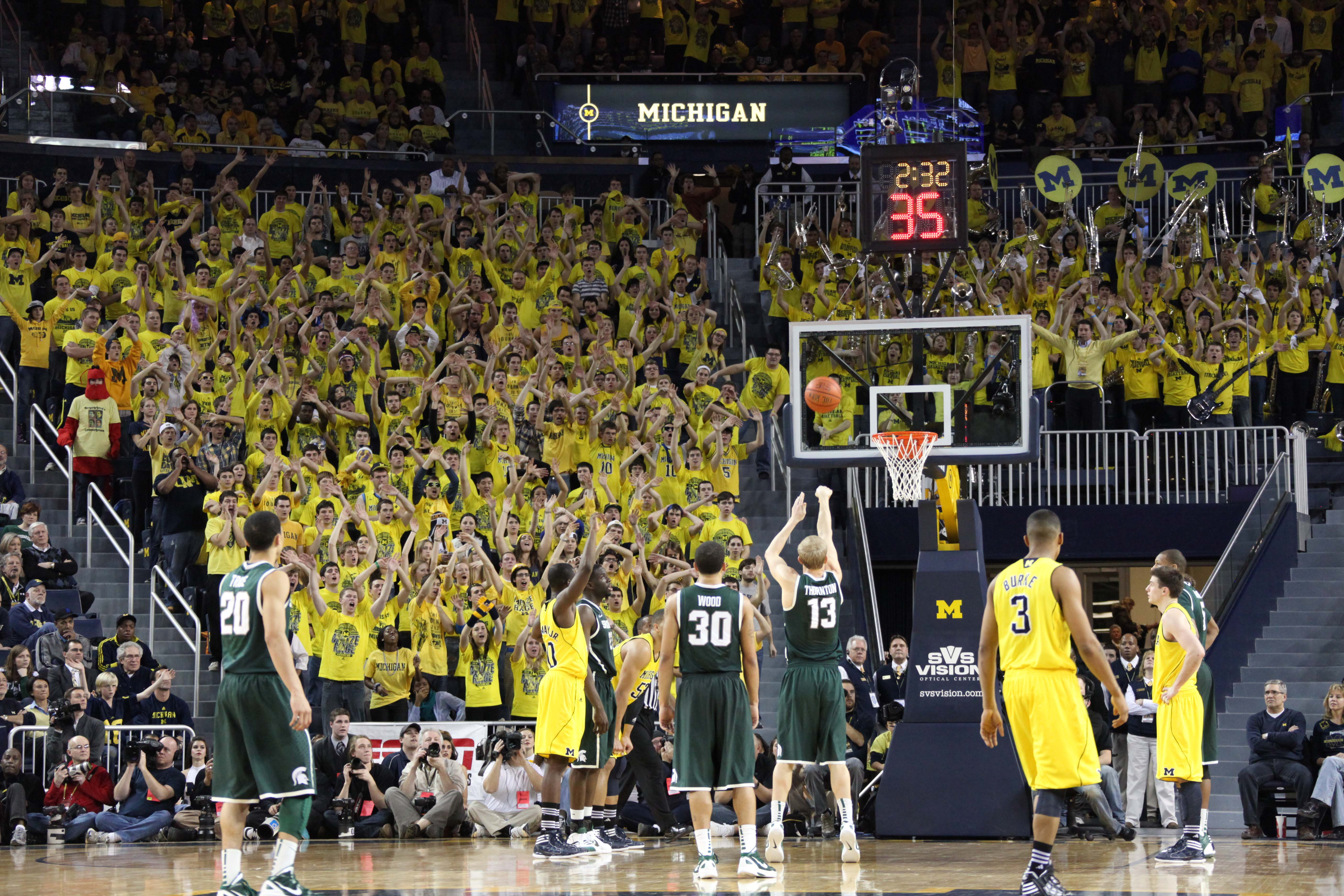 Michigan State at Michigan 26