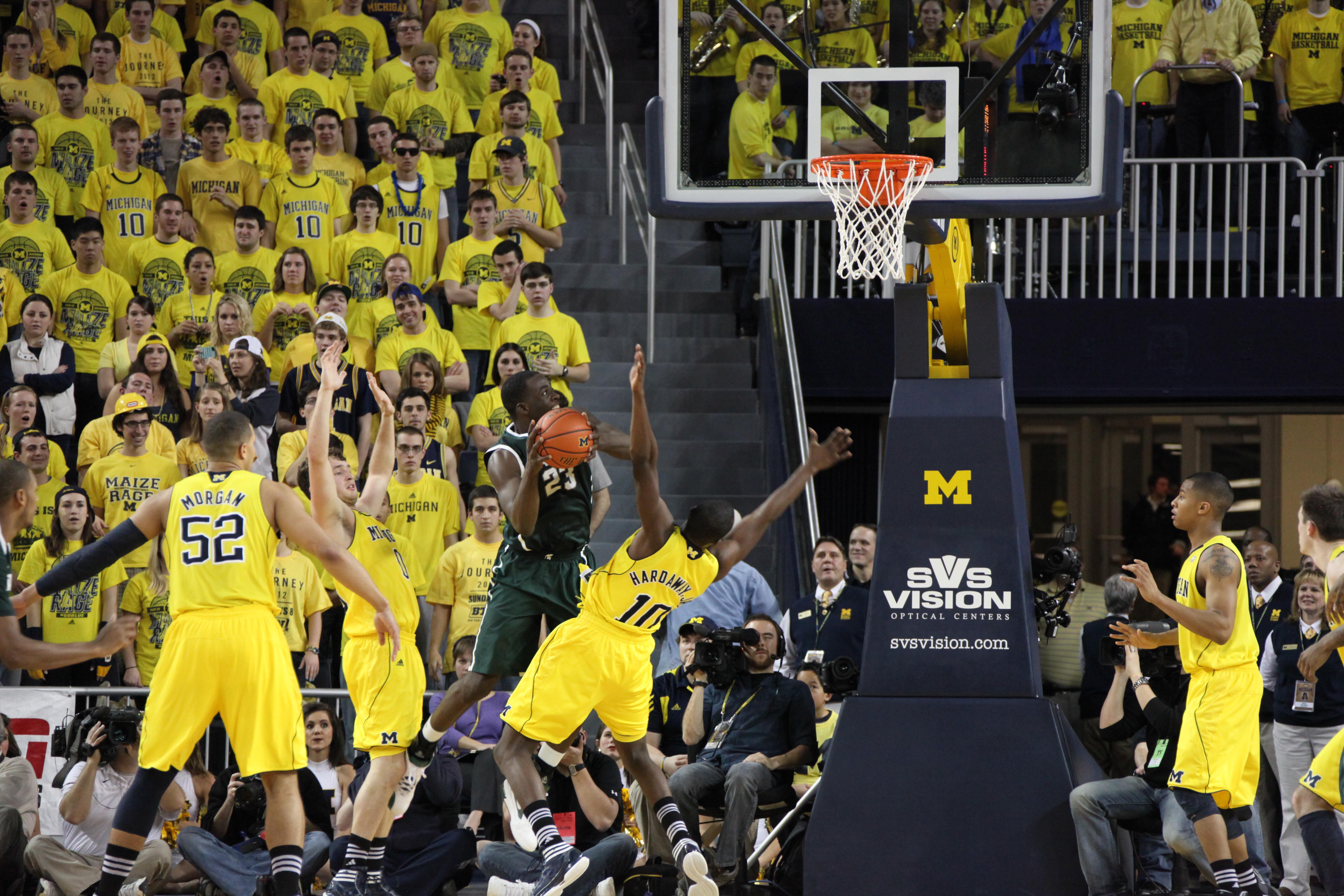 Michigan State at Michigan 18