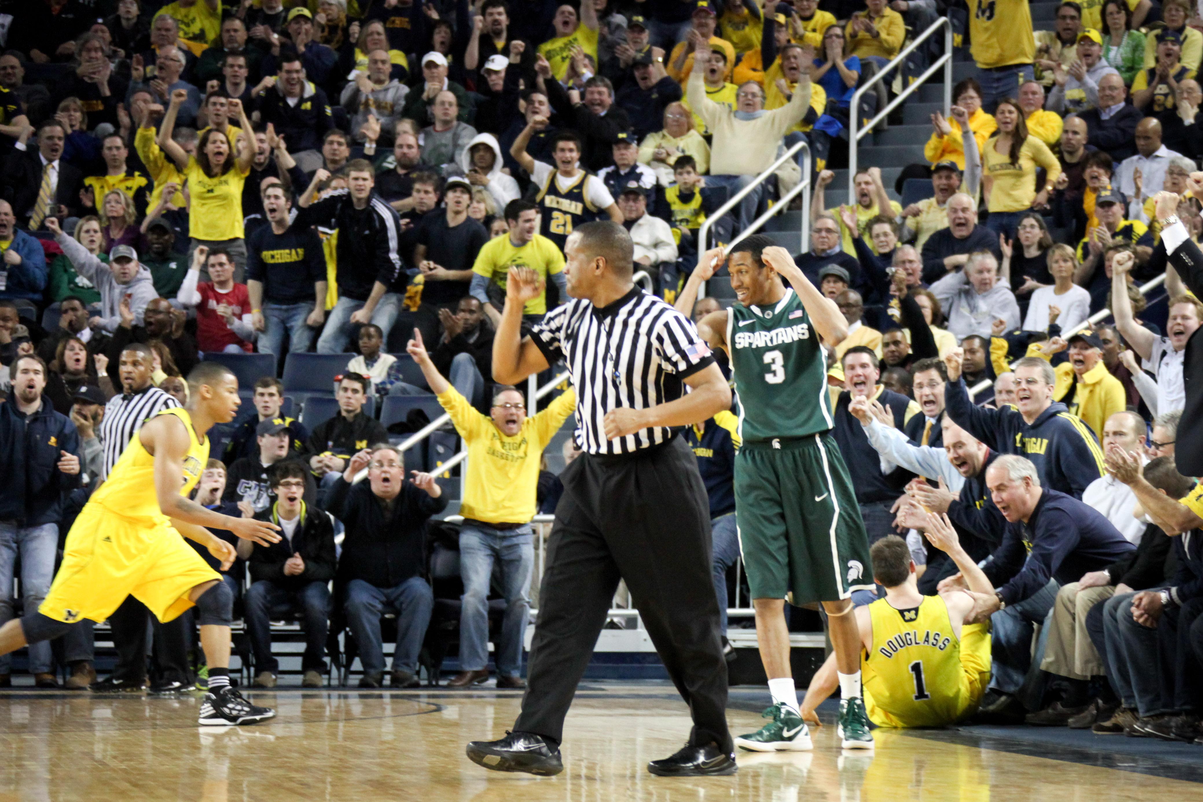 Michigan State at Michigan 11
