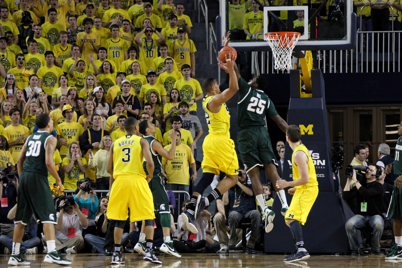 Michigan State at Michigan 9