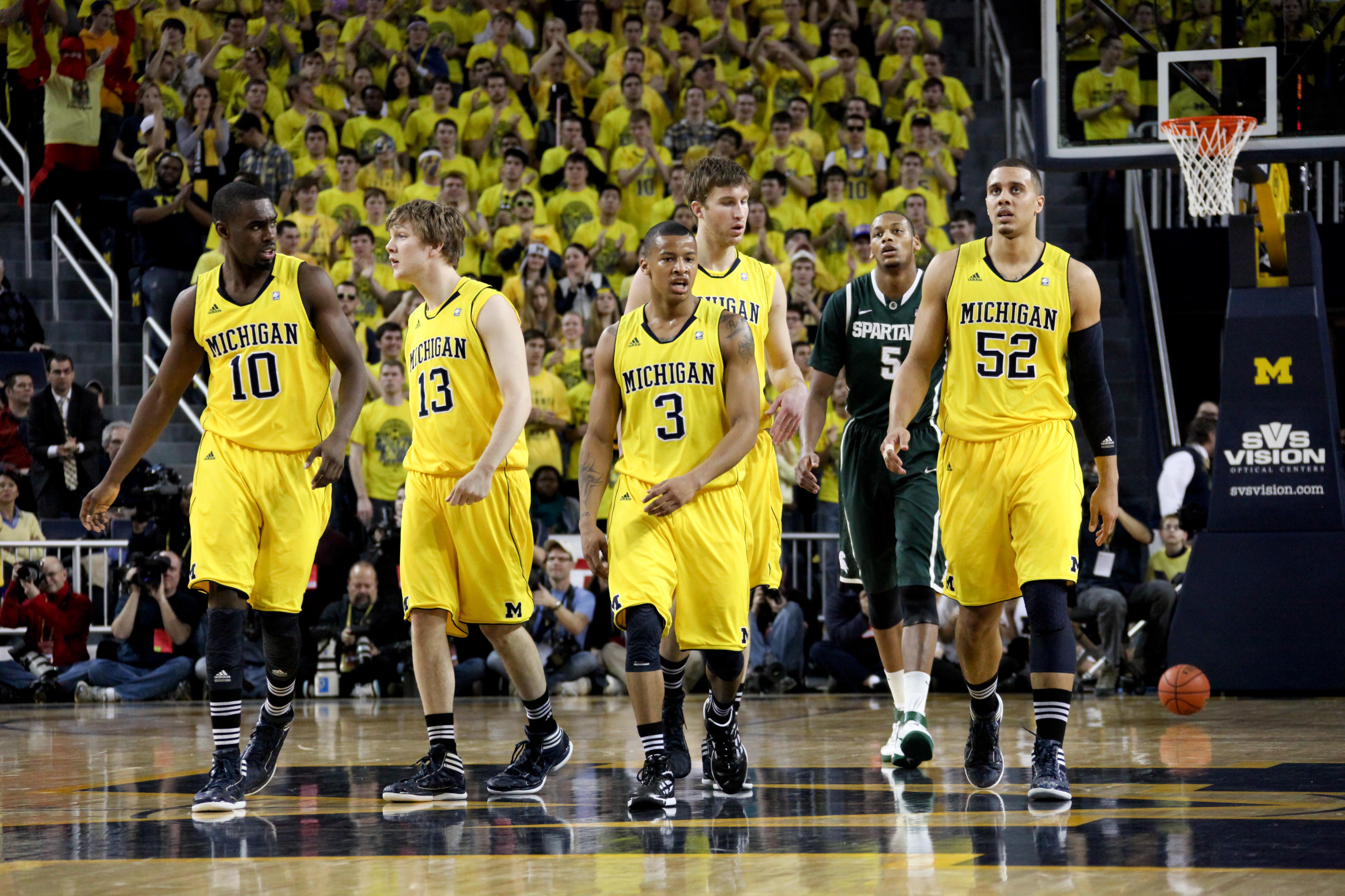 Michigan State at Michigan 5