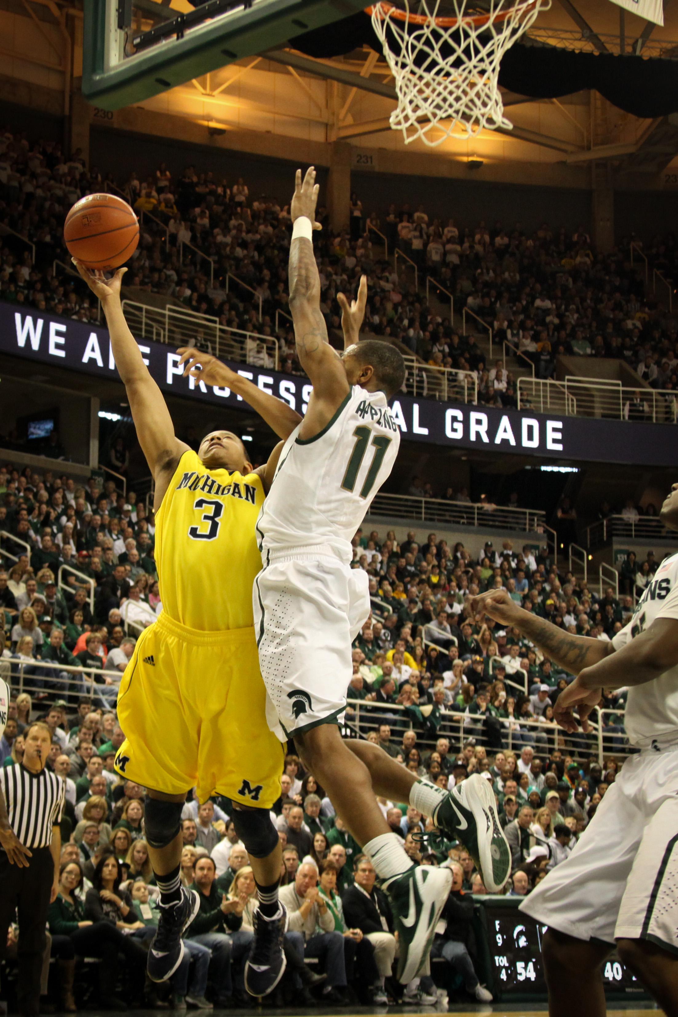 Michigan at Michigan State 28