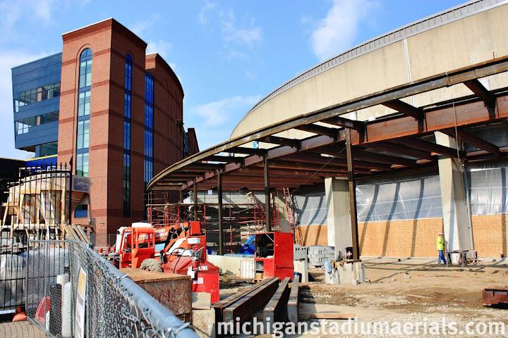 Crisler Center Construction Update – March – 8