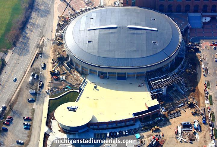 Crisler Center Construction Update – March – 4