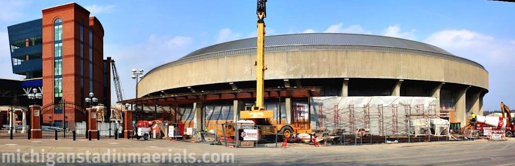 Crisler Center Construction Update – March – 6