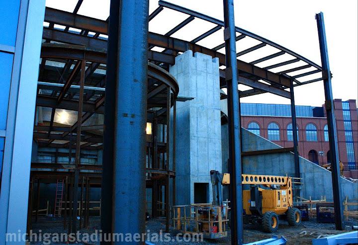 Crisler Center Construction Update – March – 1