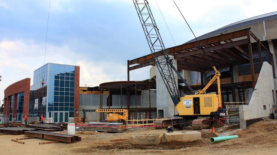 Crisler Center Construction Update – March – 2