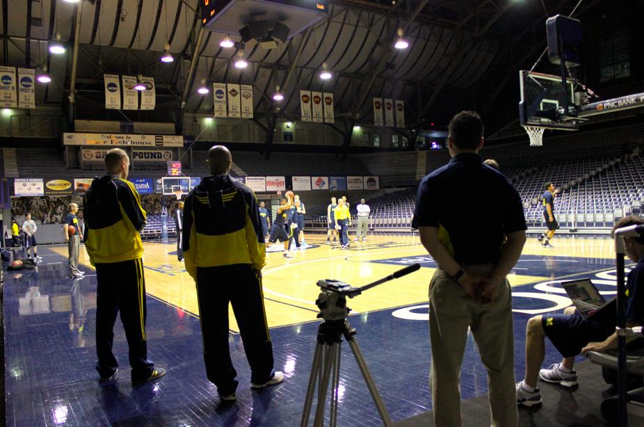 Michigan Big Ten Tournament at Hinkle – 9