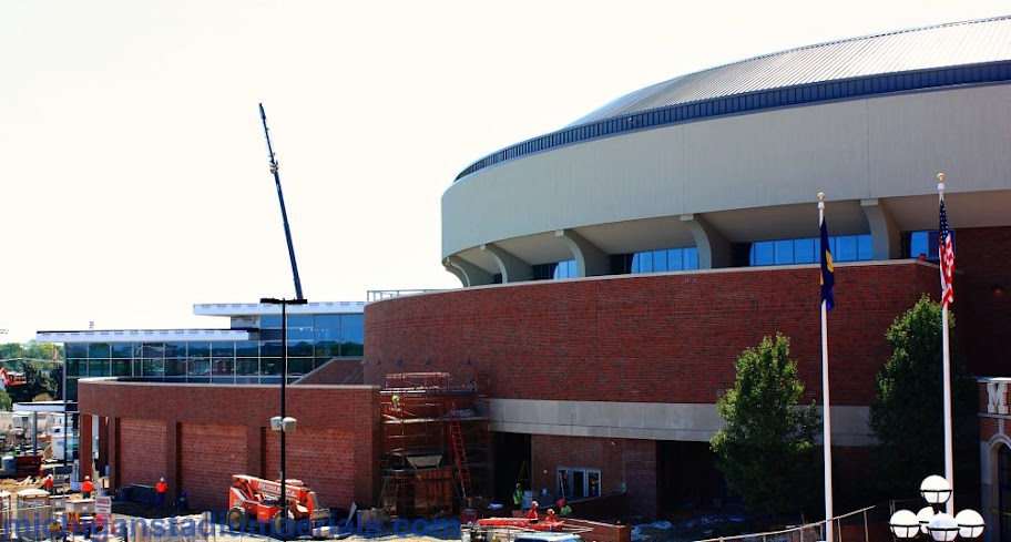 Crisler Center Construction Update – August – 16