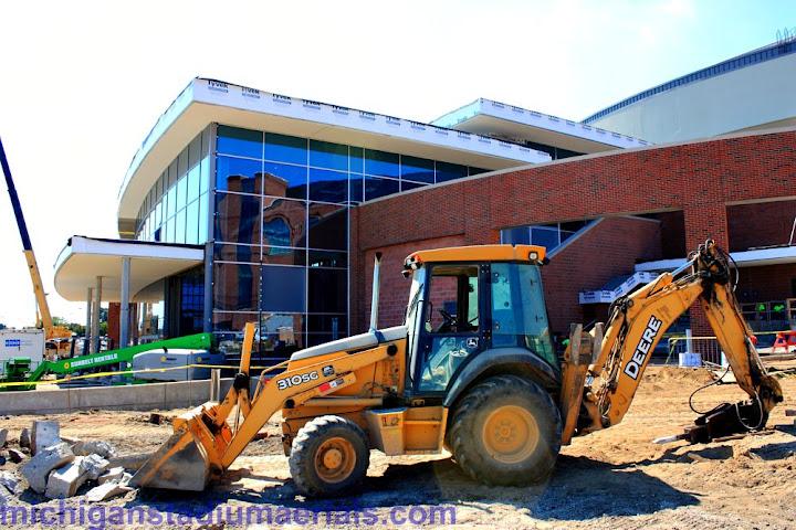 Crisler Center Construction Update – August – 8