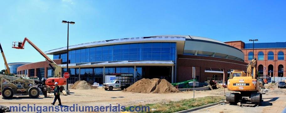 Crisler Center Construction Update – August – 3
