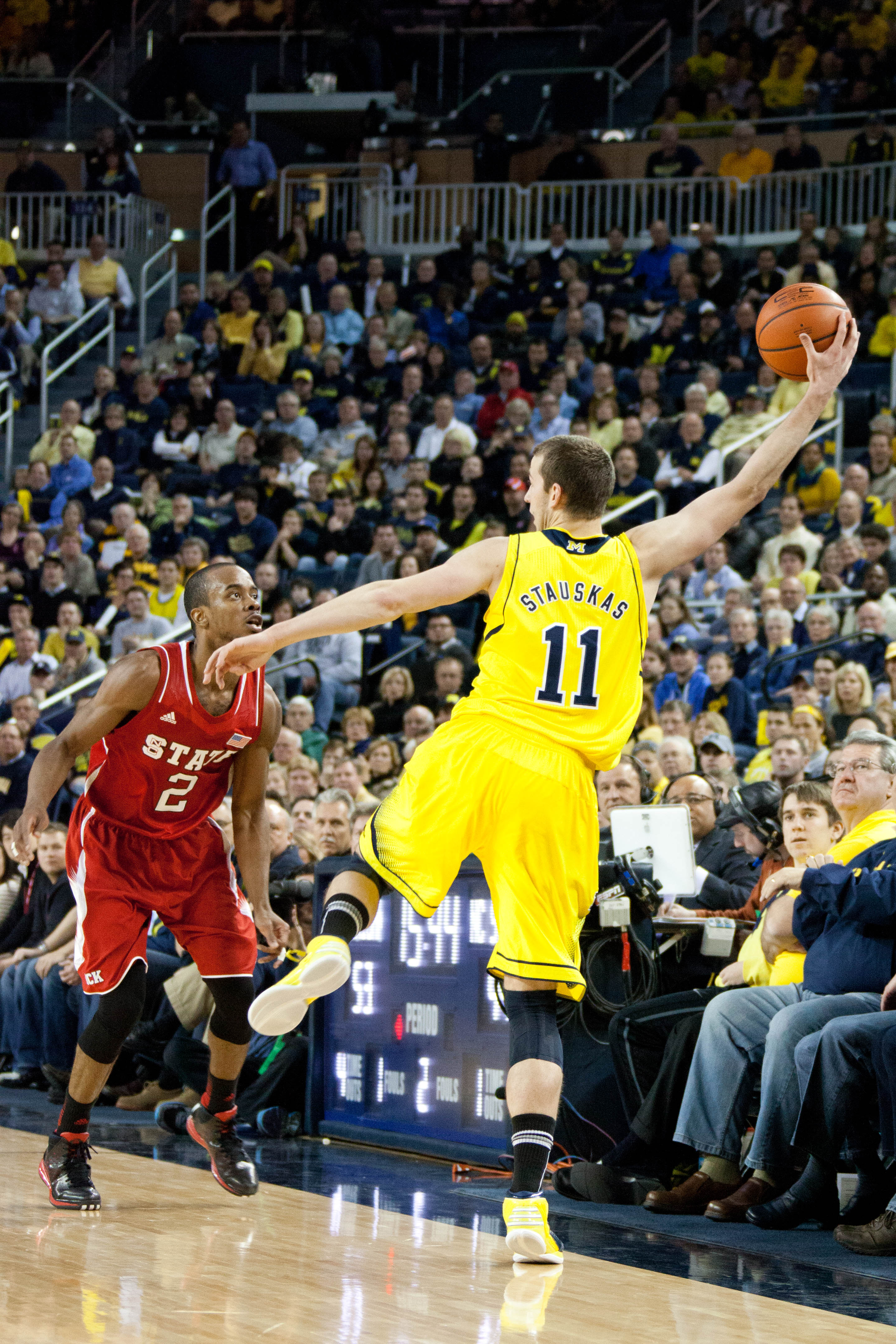 Michigan 79, NC State 72 – #18