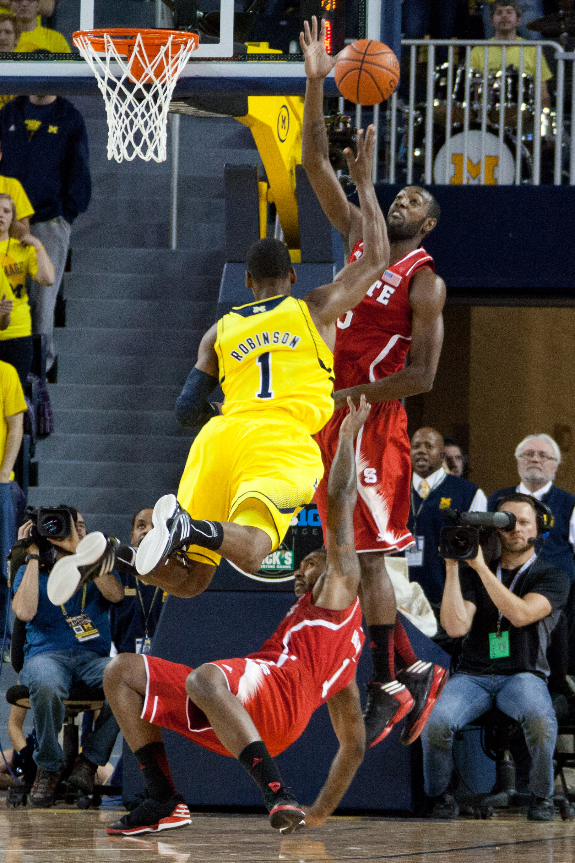 Michigan 79, NC State 72 – #8