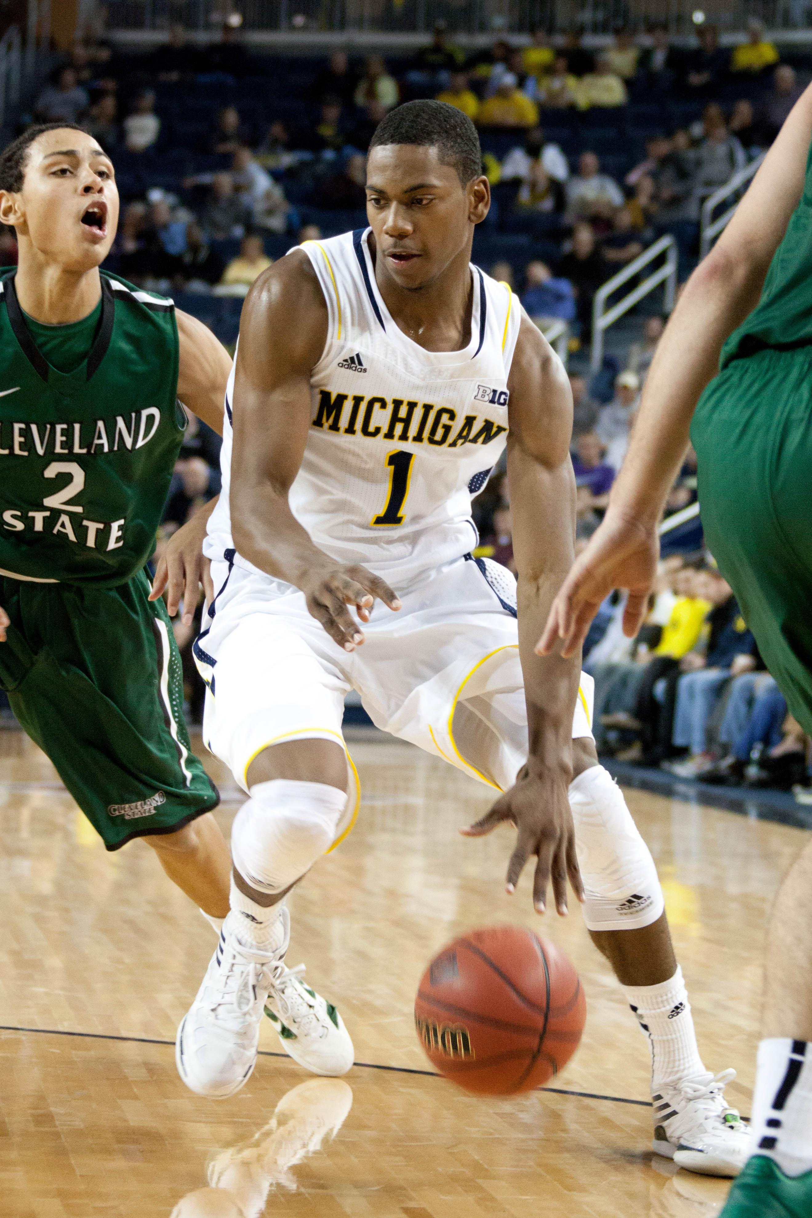 Michigan 77, Cleveland State 47 — 29