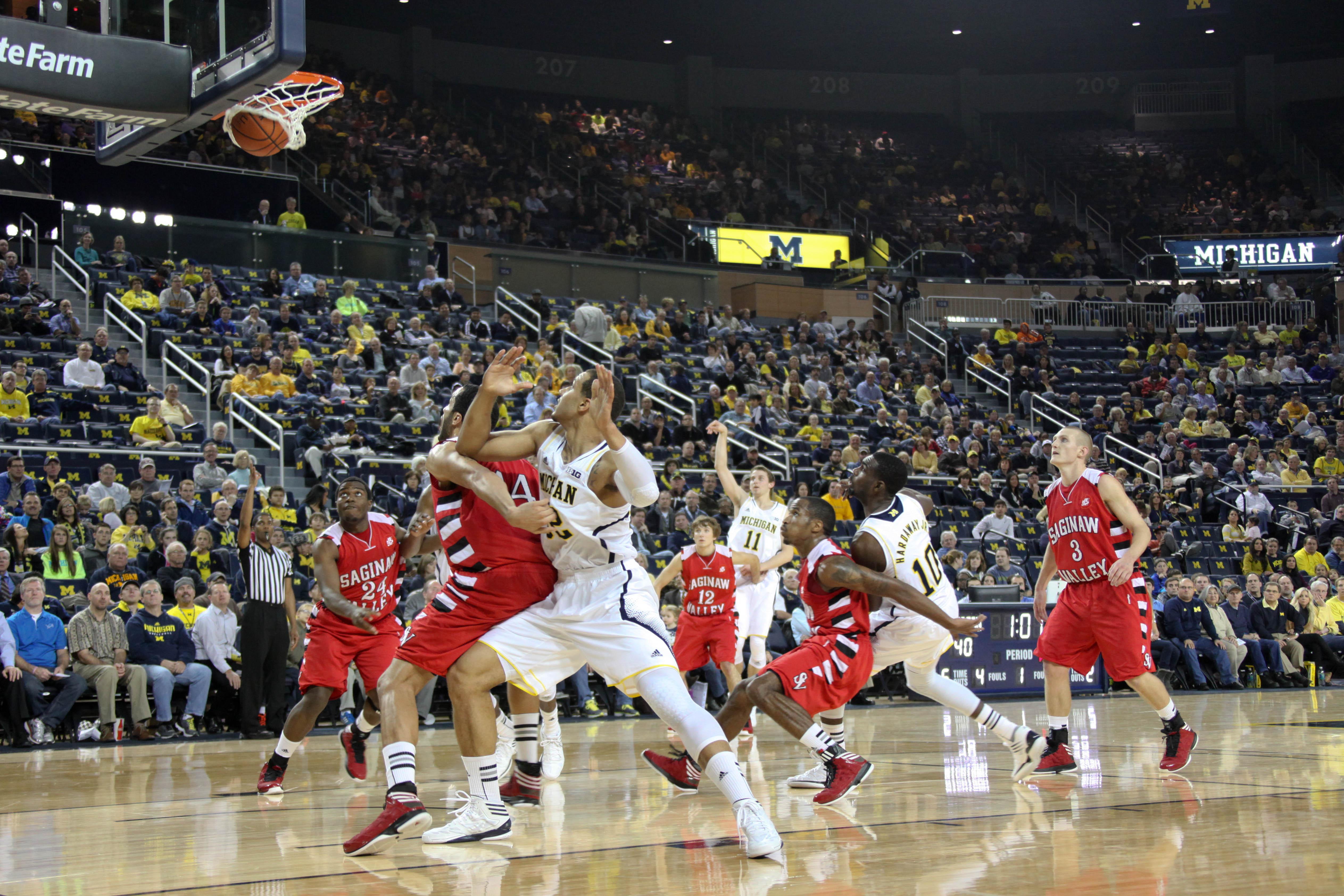 Michigan vs. Saginaw Valley State – 14