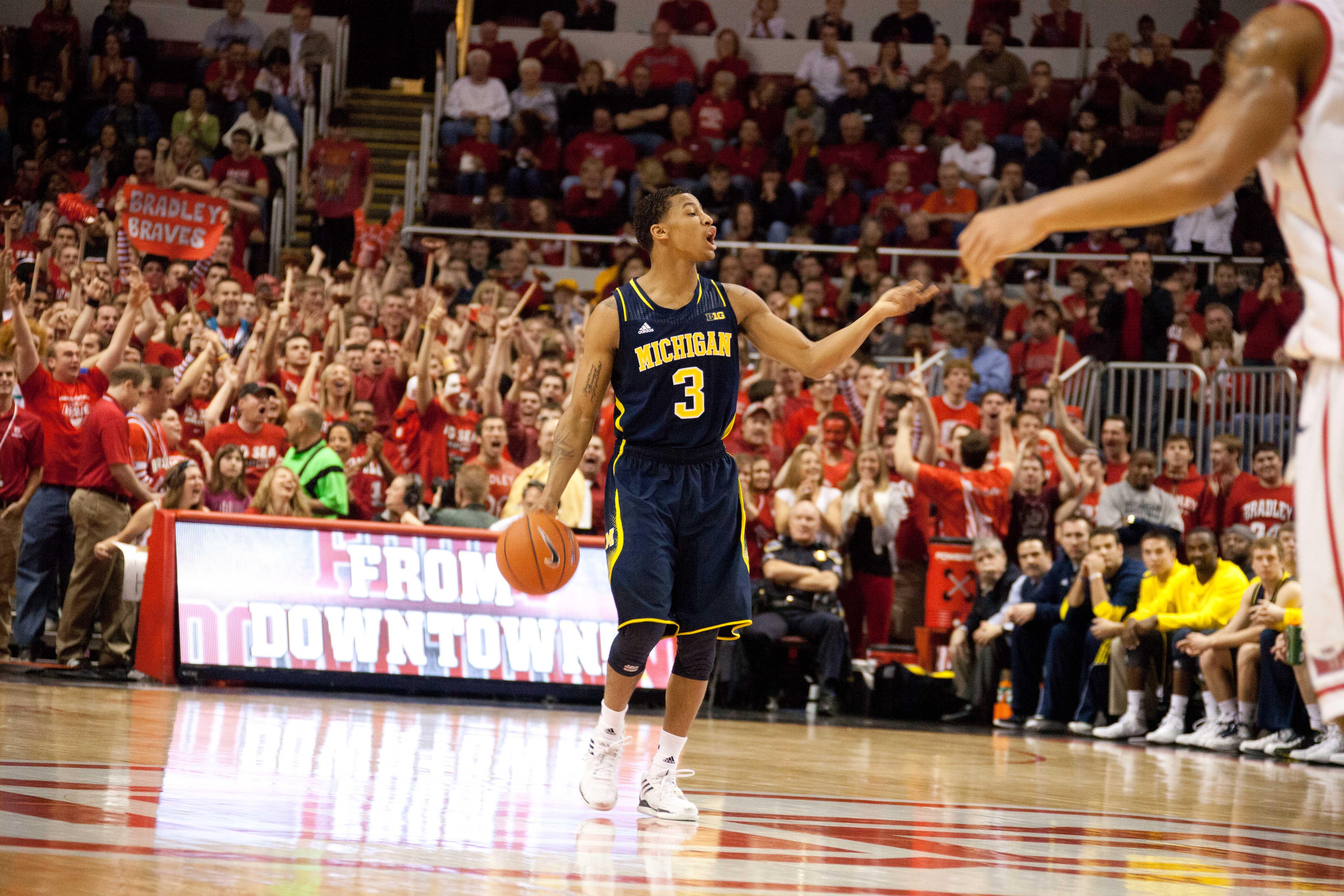 Michigan at Bradley – #9