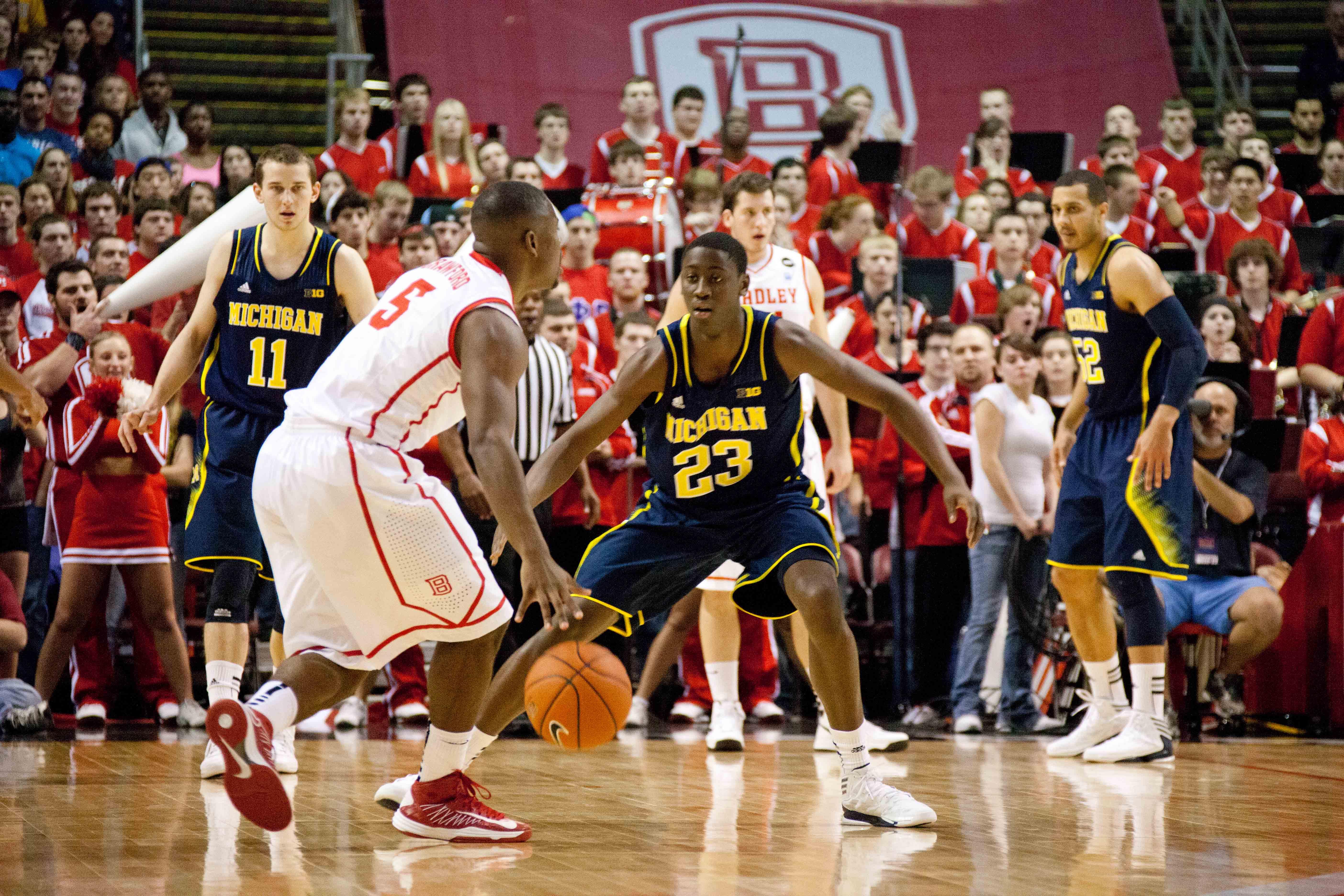 Michigan at Bradley – #5