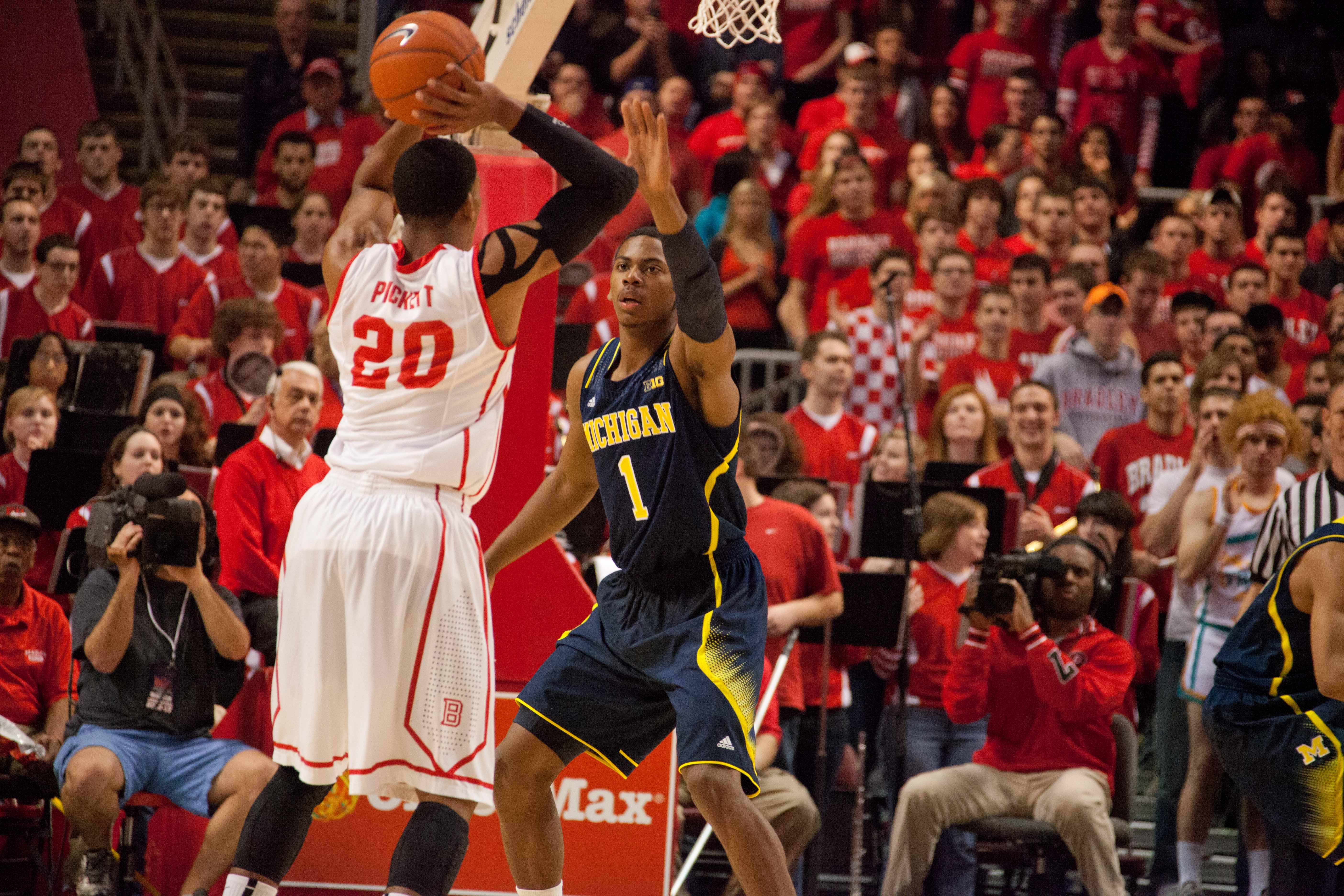 Michigan at Bradley – #2