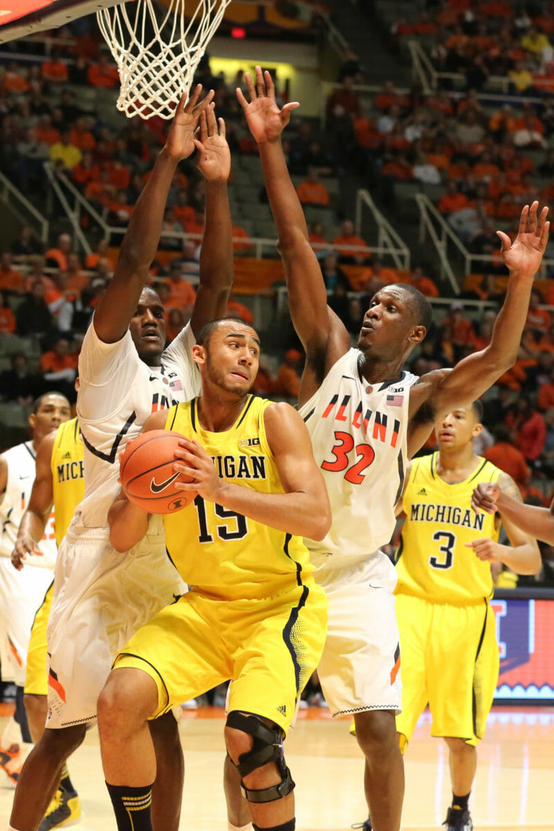 Michigan 74, Illinois 60-29