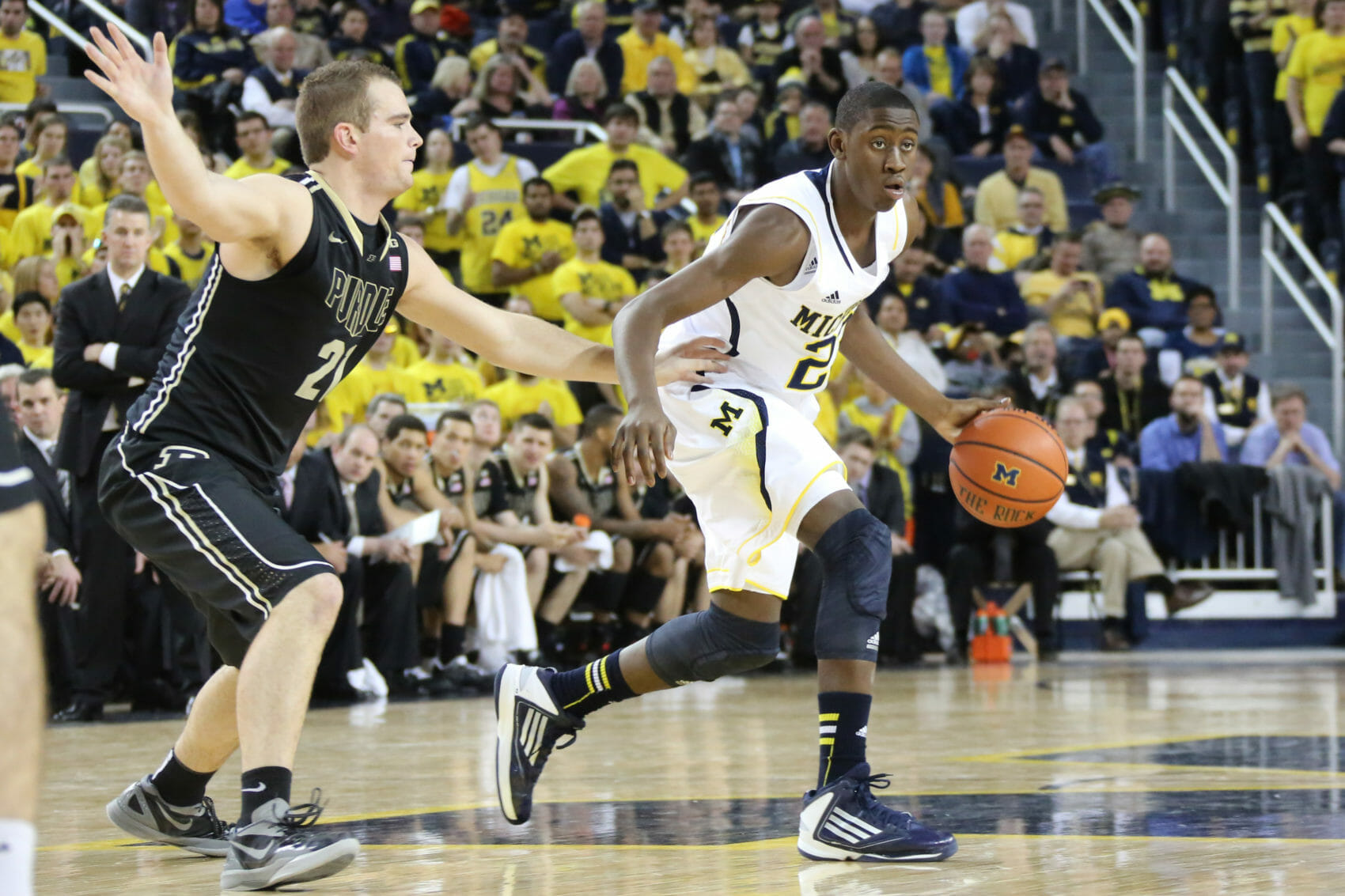 Michigan 68, Purdue 53-25