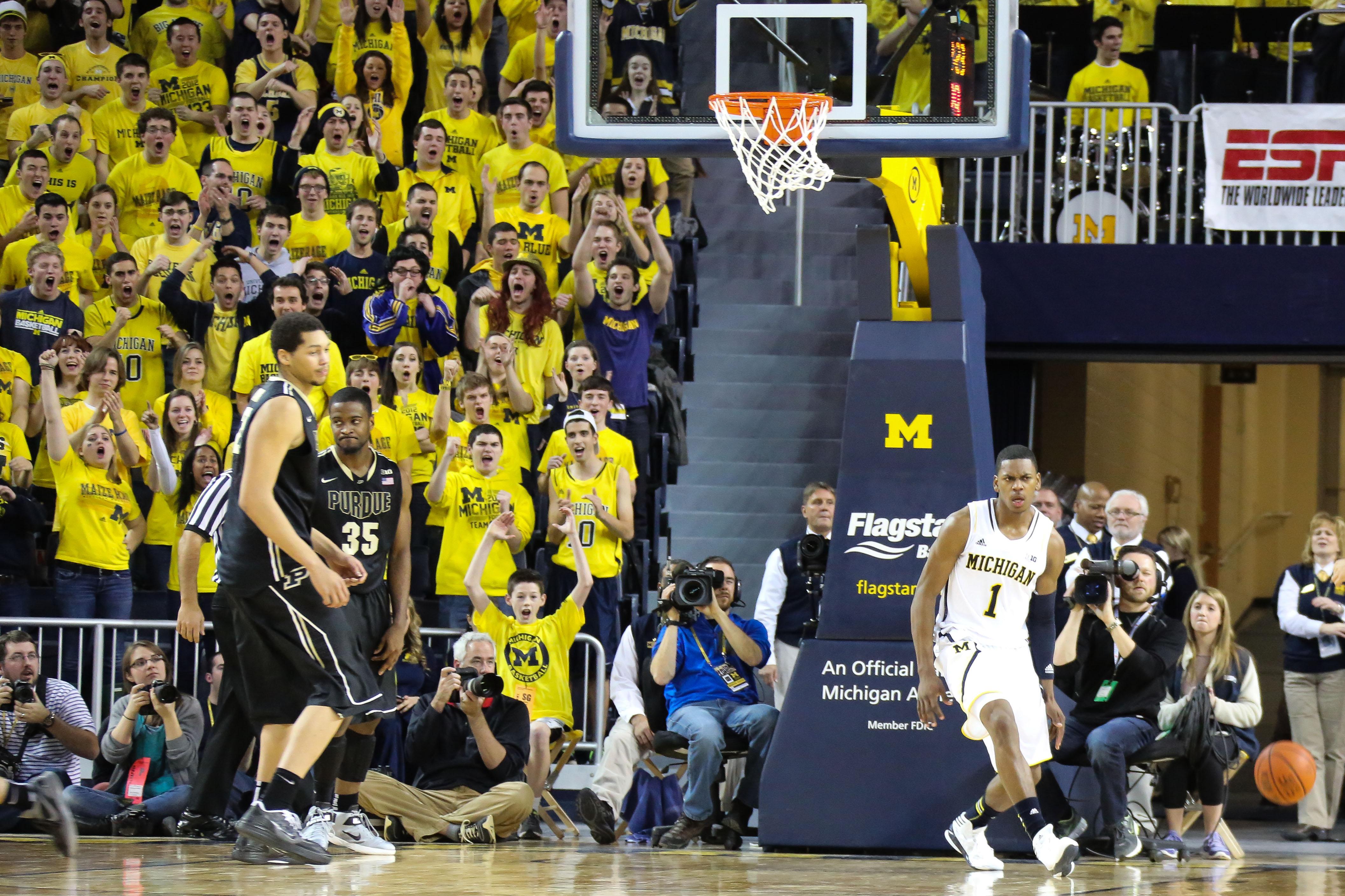 Michigan 68, Purdue 53-9