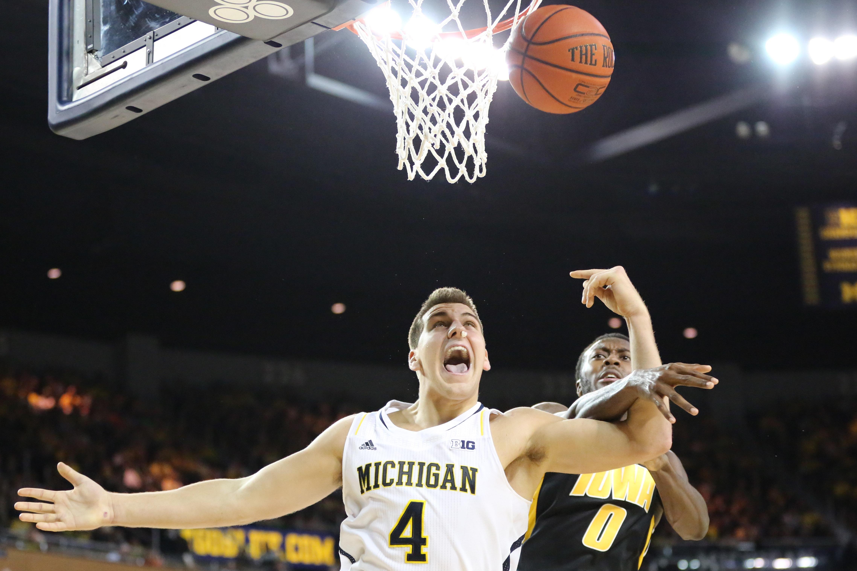 Michigan 95, Iowa 67 – #24