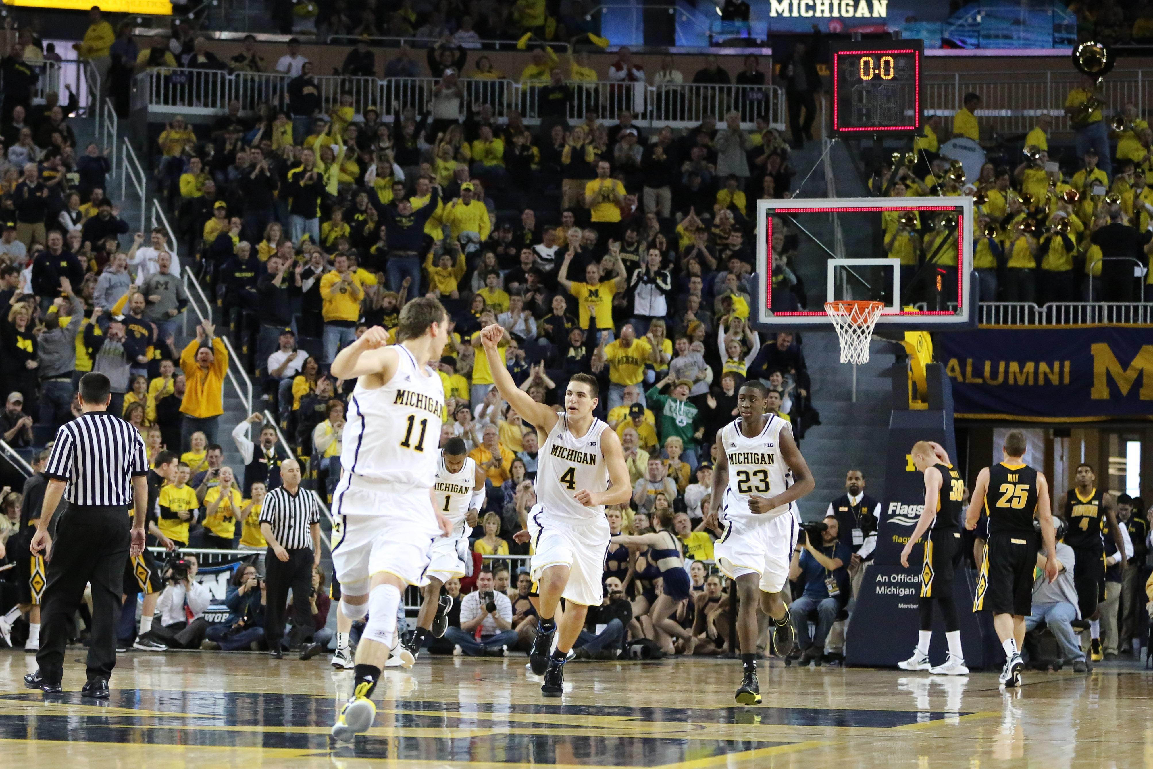 Michigan 95, Iowa 67 – #12