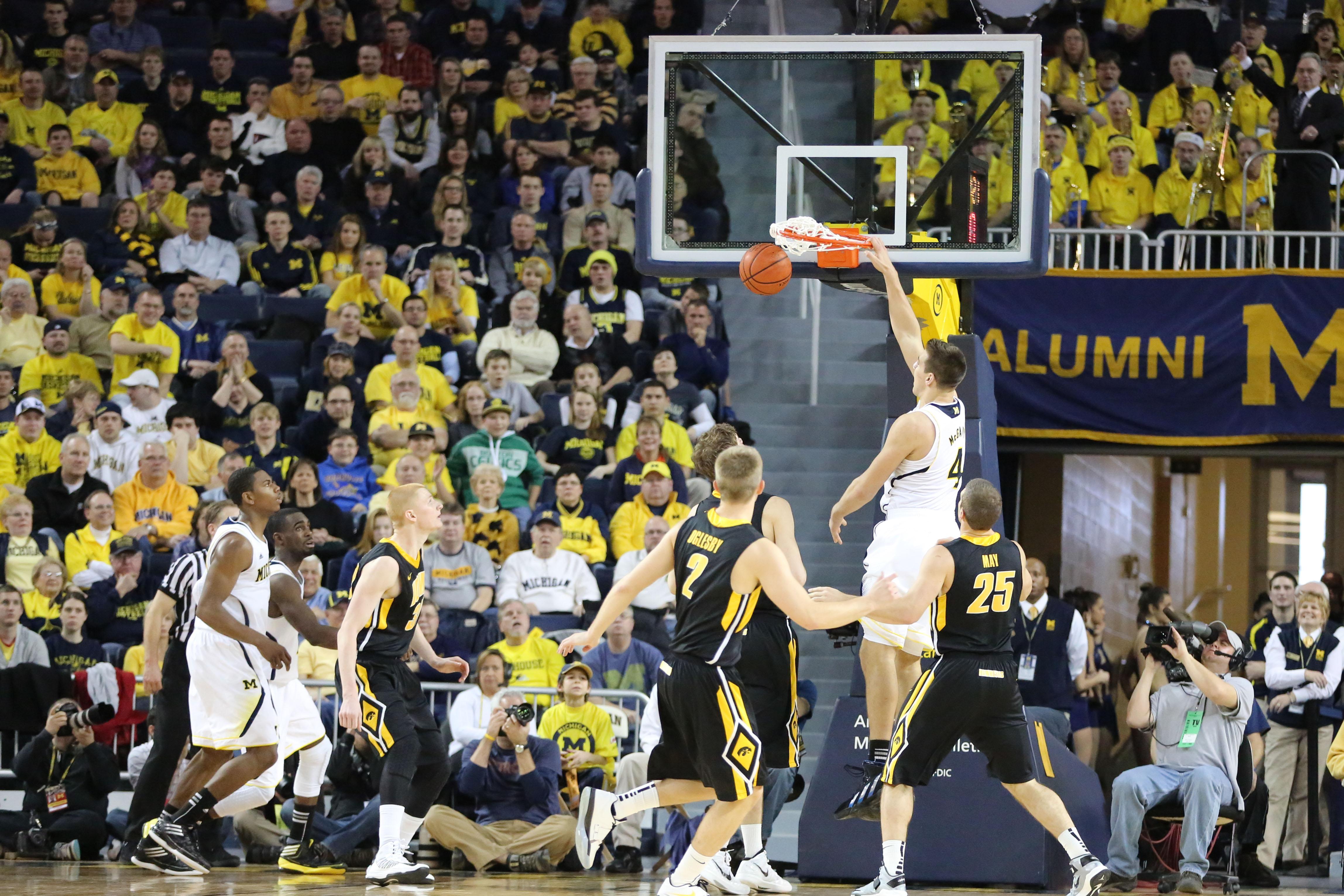 Michigan 95, Iowa 67 – #10