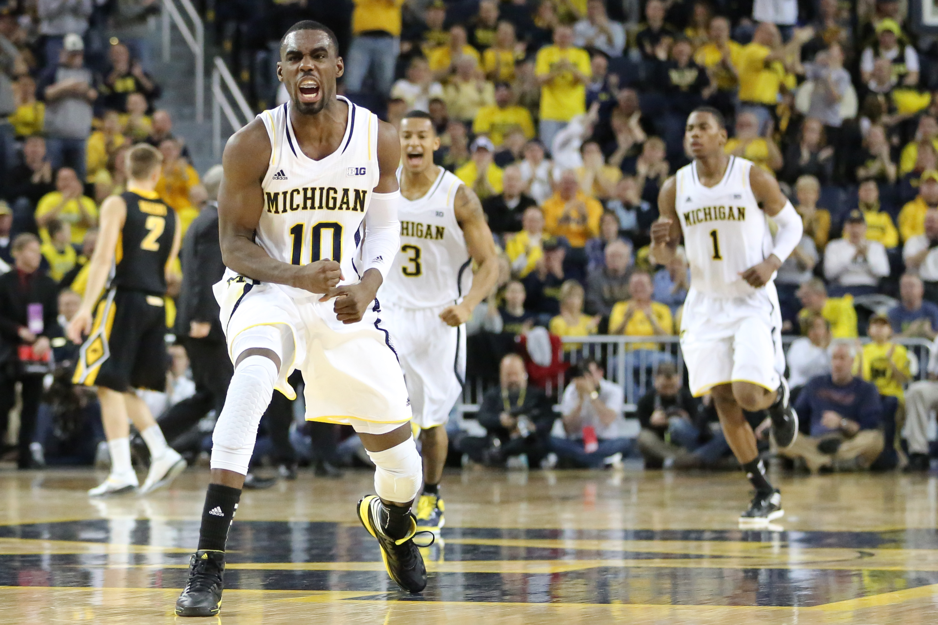 Michigan 95, Iowa 67 – #9