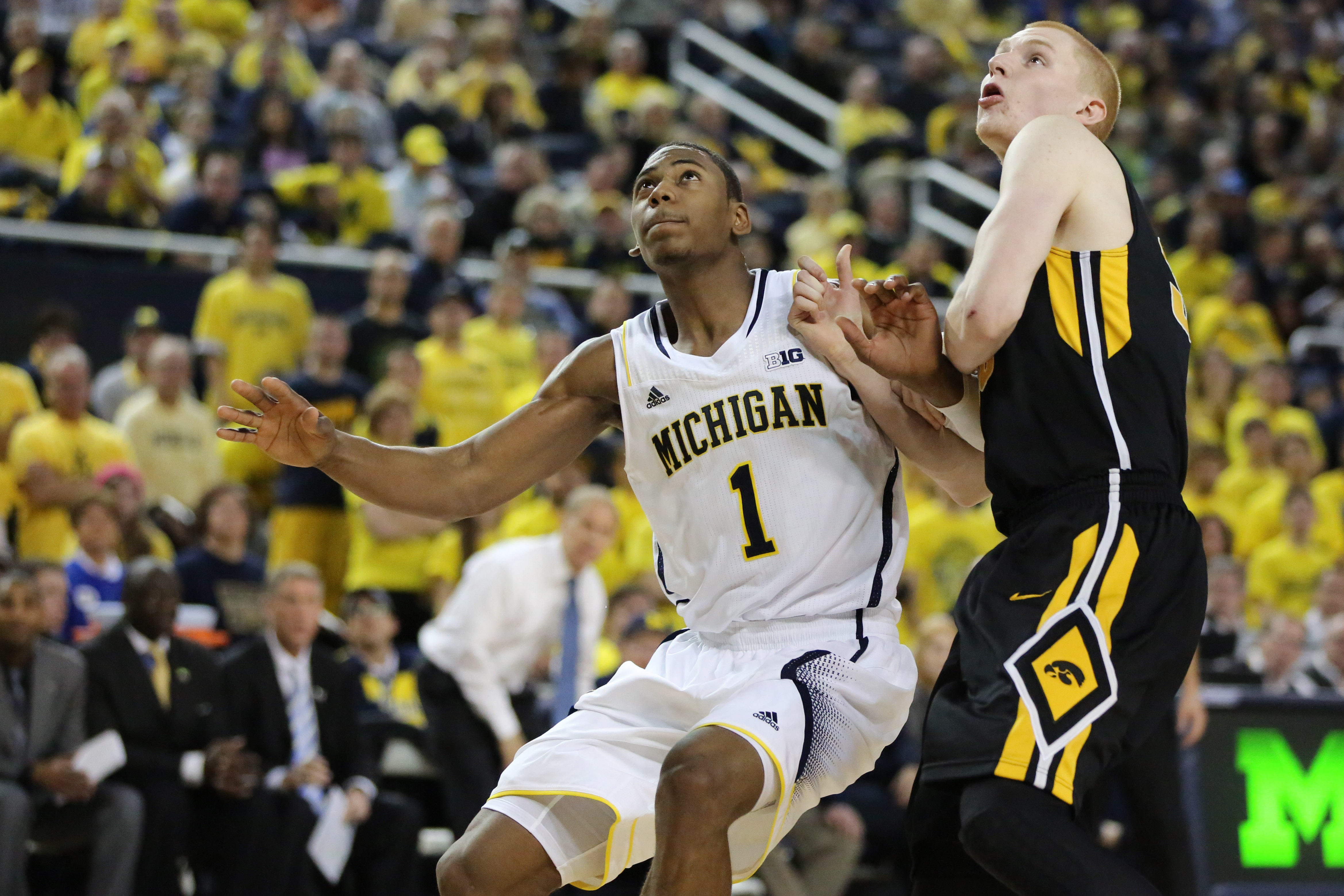 Michigan 95, Iowa 67 – #7