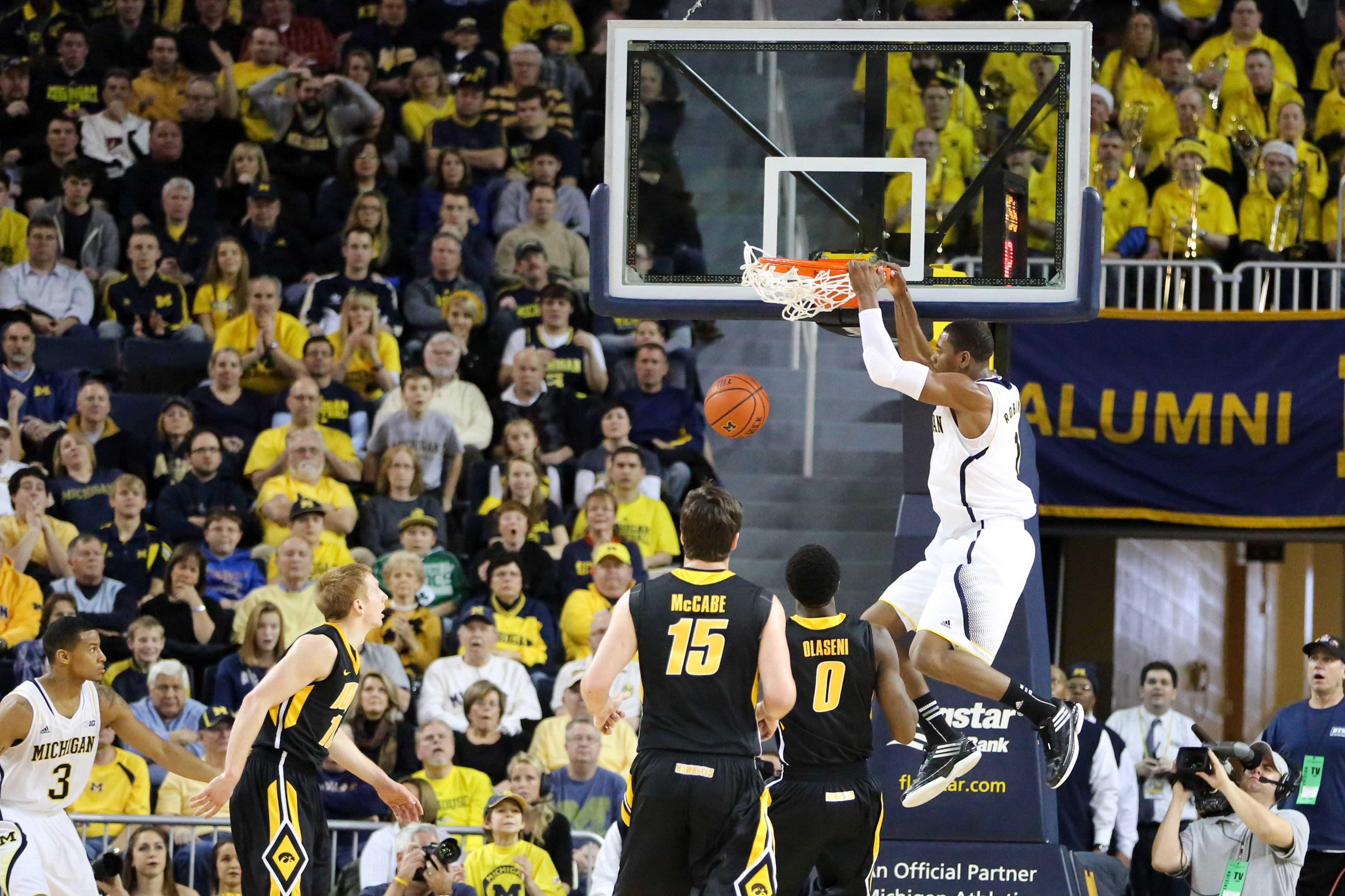 Michigan 95, Iowa 67 – #2