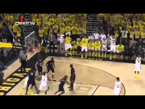 Illinois at Michigan Highlights